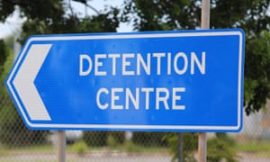 A sign to Don Dale youth detention centre