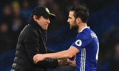 Antonio Conte says Chelsea deserve to be top of the table – video