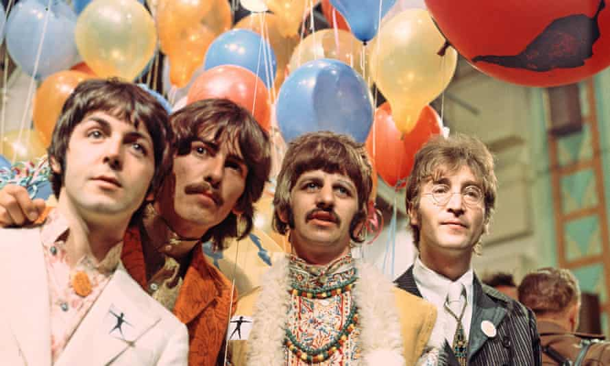 The Beatles in 1967.