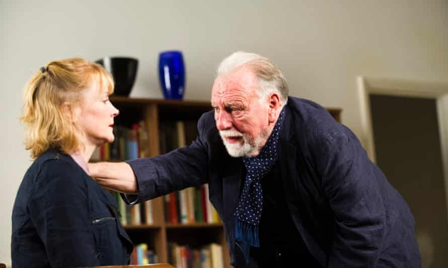 Claire Skinner and Kenneth Cranham in The Father.