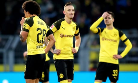European roundup: Dortmund waste three-goal lead in draw with Hoffenheim