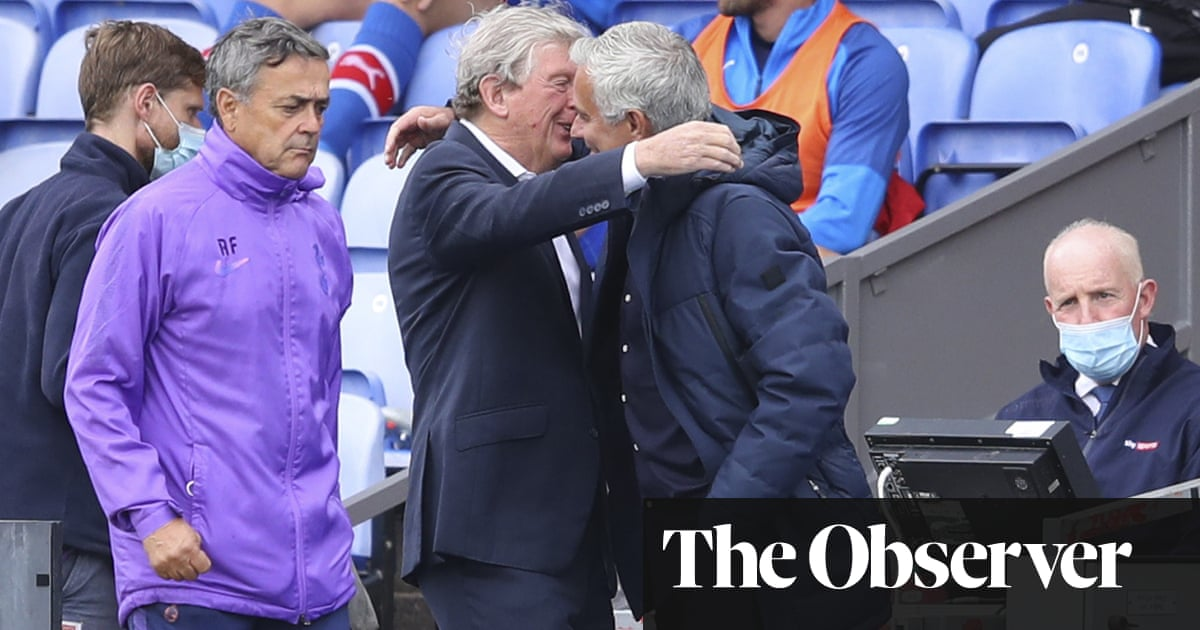José Mourinho keen to follow Roy Hodgson by managing into his 70s
