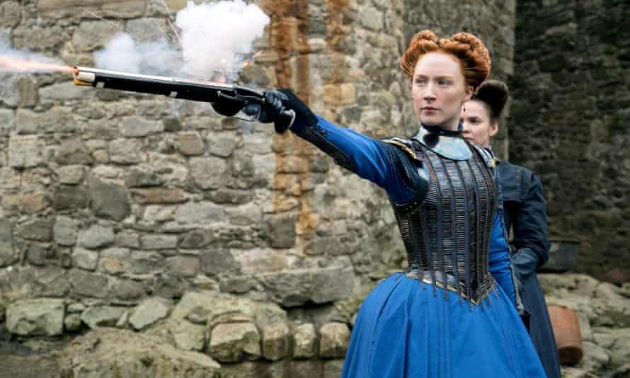 Saoirse Ronan as Mary, Queen Of Scots.
