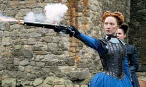 Saoirse Ronan as Mary Stuart in Mary Queen of Scots.