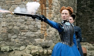 Saoirse Ronan in Mary Queen Of Scots.