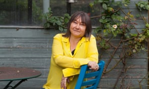 Ali Smith, pictured at her home in Cambridge.