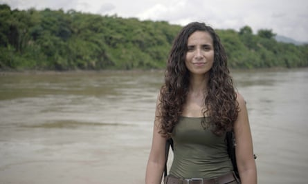 Palaeo-anthropologist Ella Al-Shamahi, the presenter of the Channel 4 series.