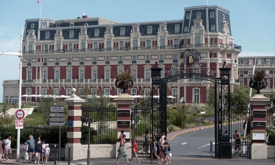 Hôtel du Palais in Biarritz