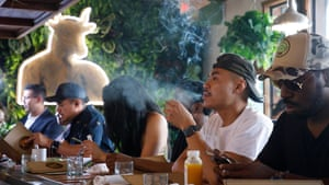 The restaurant is funded by cannabis farmers Lowell Herb Co, whose backers include the likes of pop star Miley Cyrus, actor Chris Rock and comedian Sarah Silverman