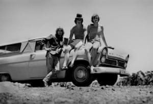 On the roadNew South Wales, Australia, 1970 Artwork: David Dobbing/GuardianWitness