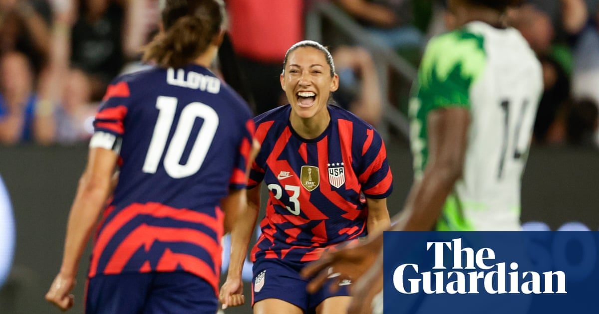 Christen Press spurs USWNT to victory over Nigeria as Olympic cuts loom