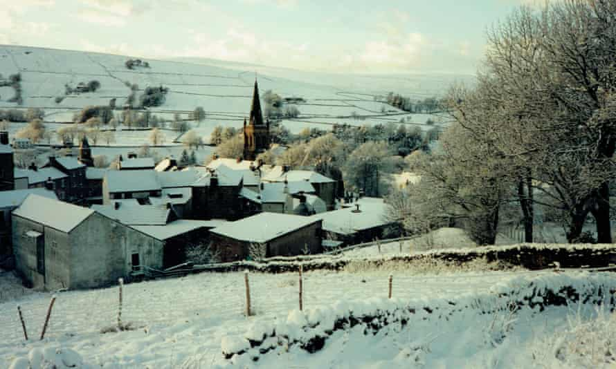 alston, north pennines, in the snow