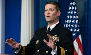 Ronny Jackson, the White House physician, was nominated as secretary of veterans affairs.