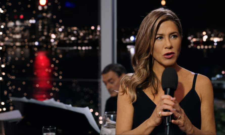 'An absolute revelation' … Jennifer Aniston in The Morning Show.