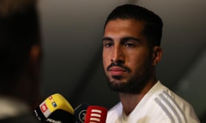 Emre Can has won 21 caps for Germany.