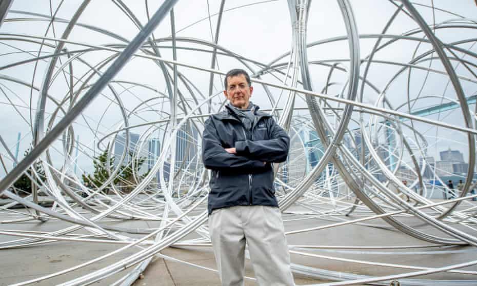 Antony Gormley unveils New York Clearing