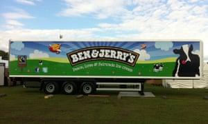 Ben & Jerry's truck