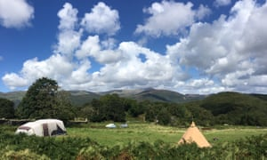 Graig Wen campsite