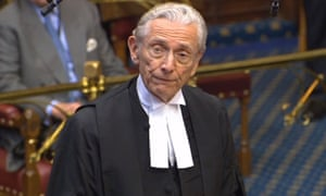 The Lord Speaker, Lord Fowler.