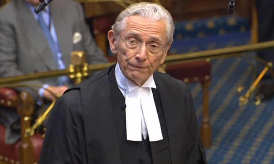 The Lord Speaker, Lord Fowler, in the House of Lords