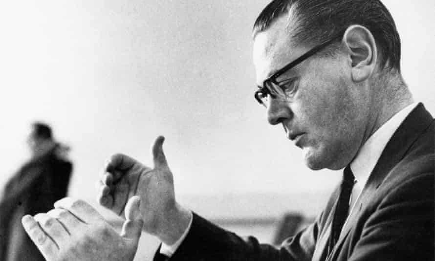 Composer Peter Racine Fricker in 1962.
