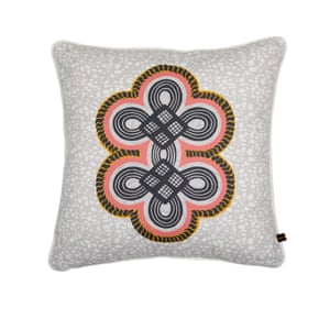 Eva Sonaike Ona grey cushion, £69.