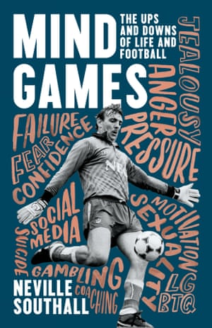 Mind Games, a new book about mental health by Neville Southall