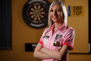 Fallon Sherrock became the first woman to win at match at the PDC world championship in December.