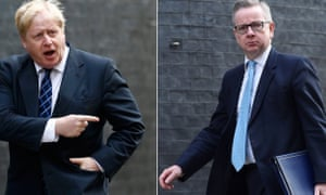 Boris Johnson and Michael Gove are going on the Brexit offensive.