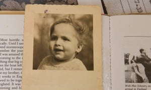 Paul Alexander on his first birthday. He was 19 months old when he was brought to England on the Kindertransport, six weeks before the outbreak of the second world war.