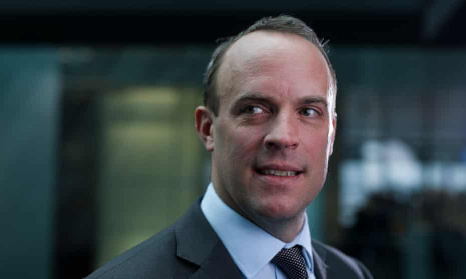 Dominic Raab, who has been tipped by some as a future Tory leader.