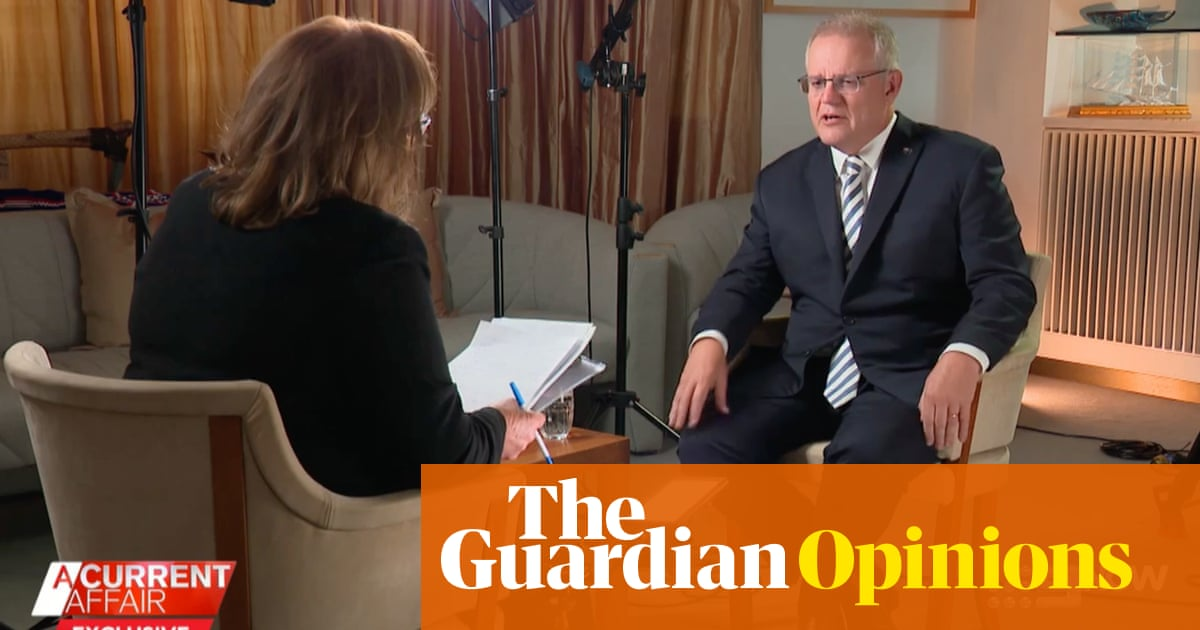 Scott Morrison's media blitz goes awry as A Current Affair turns up the heat – The Guardian