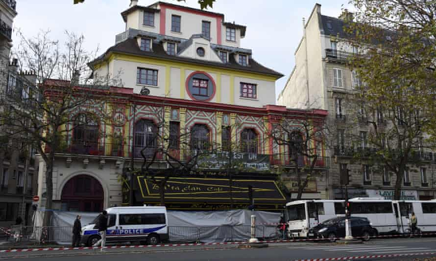 The Bataclan theatre