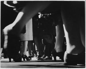 Running Legs, Forty-second Street, New York, 1940-1941She immigrated to the US in 1938 with her husband, the proto-pop abstract painter Evsa Model, and worked as a professional photographer, publishing regularly in Harper's Bazaar, Cue, and PM Weekly.