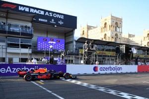 Sergio Perez wins!
