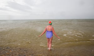 'I do not know anyone who has started sea swimming and then given it up.'