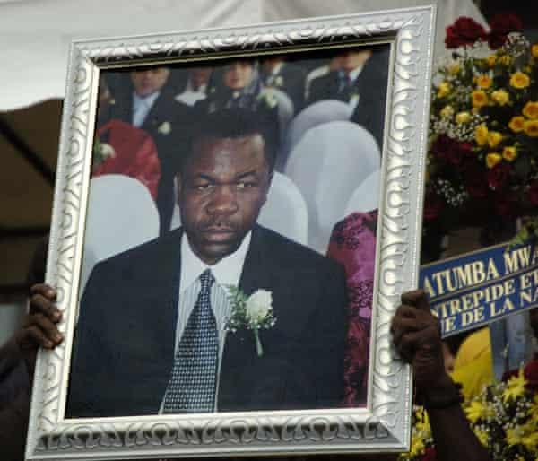 A photograph of Augustin Katumba Mwanke