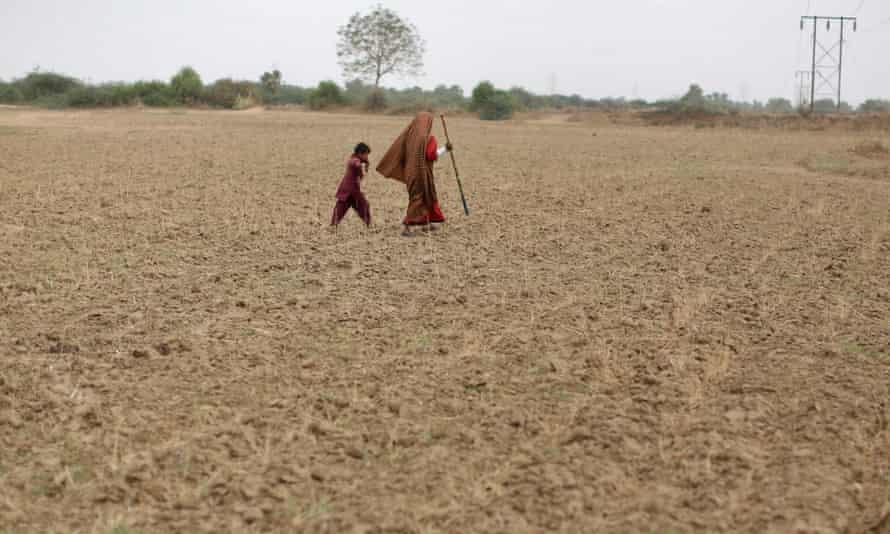 Sami village, Gujurat, western India in August 2012