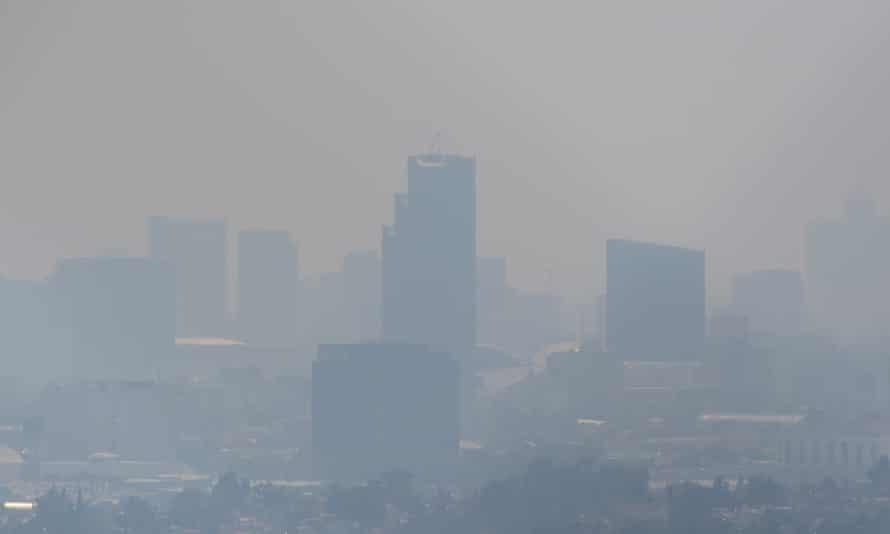 Mist over Mexico City