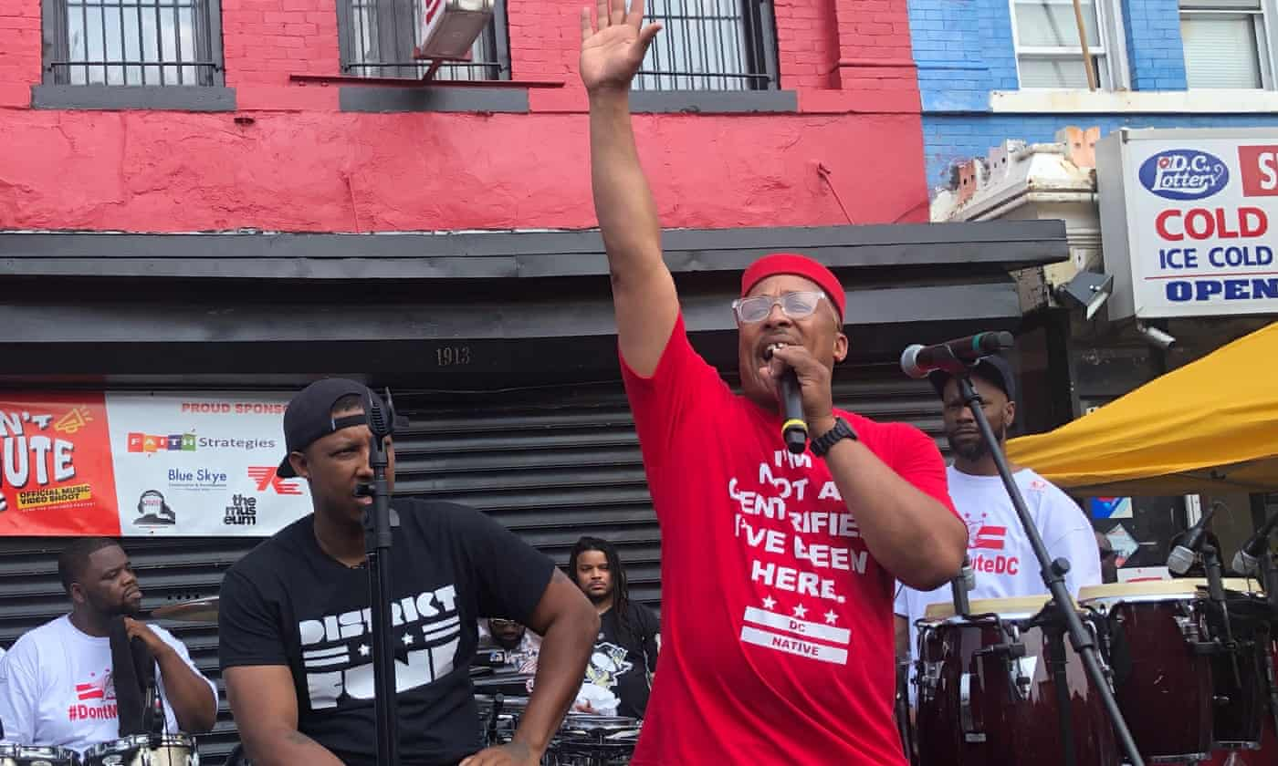 Washington DC's go-go music hits back in fight against gentrification