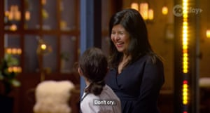 Contestants and mothers at Junior MasterChef
