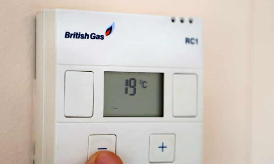 British Gas thermostat