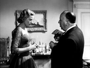 Dial M for Murder (1954) Hitchcock directs Grace Kelly, who plays Margot Wendice, the object of her husband's murderous attention after he discovers she had an affair