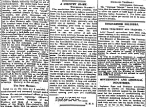 Manchester Guardian, 8 October 1917.