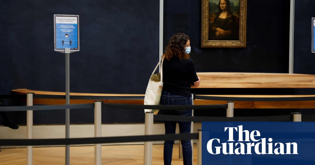 Visits to world's top 100 museums and galleries fall 77% due to Covid