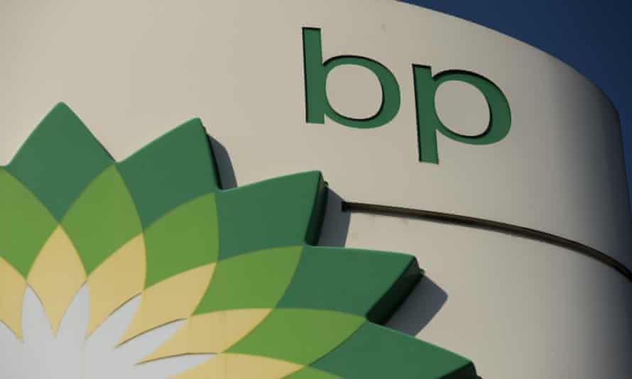 The BP logo.