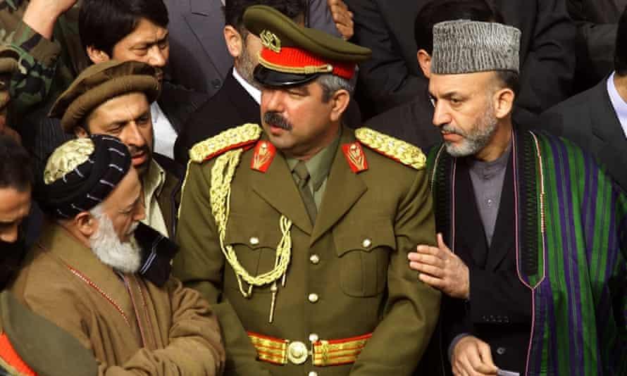 Former president Hamid Karzai.