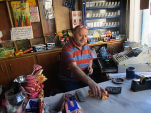 The shopkeeper is the most popular person in each neighborhood. He has all the news and gossip