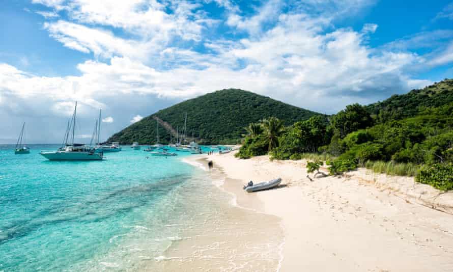 The British Virgin Islands.