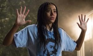 High school horror … Amandla Stenberg in The Hate U Give.